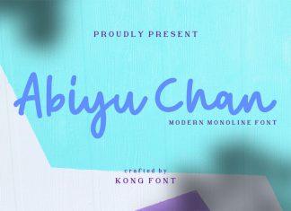 Abiyu Chan Font
