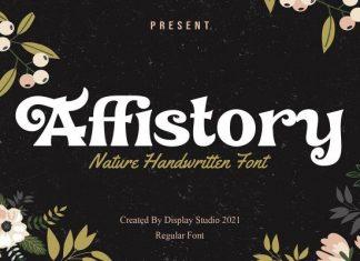 Affistory Font