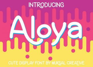 Aloya Font