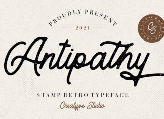Antipathy Font