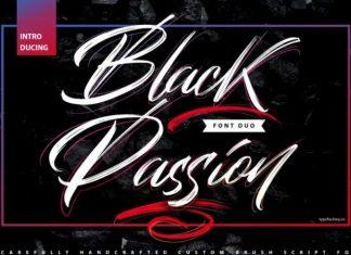 Black Passion Font