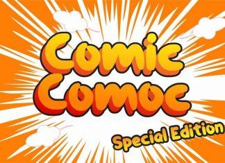 Comiccomoc Font