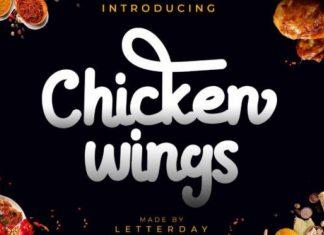 Chicken wings Font