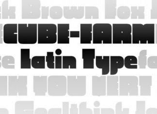 CubeFarm Font