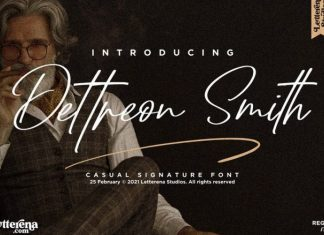 Dettreon Smith Font