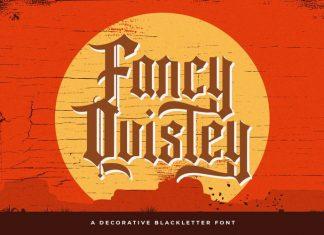 Fancy Quisley Font