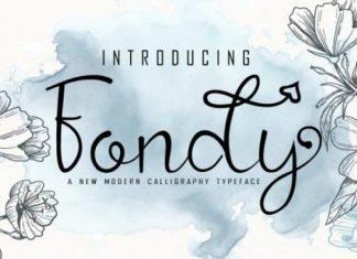 Fondy Font