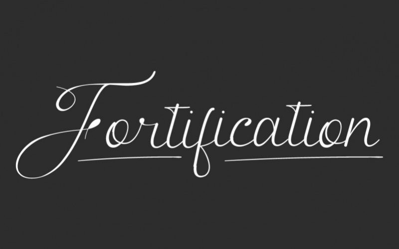 Fortification Font
