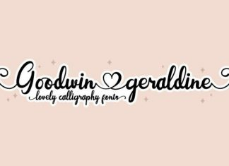 Goodwin Geraldine Font