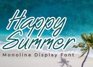 Happy Summer Font