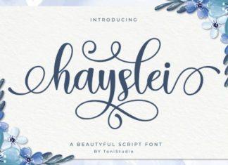 Hayslei Font