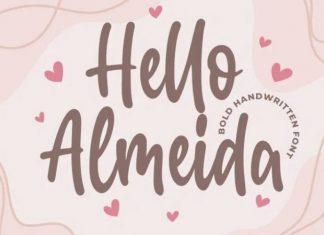 Hello Almeida Font
