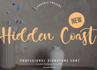 Hidden Coast Font
