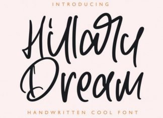 Hillary Dream Font