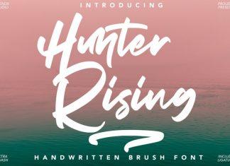 Hunter Rising Font
