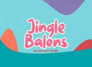 Jingle Balons Font