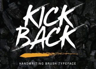 Kickback Font