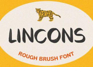LINCONS Font