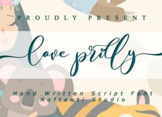 Love Prilly Font