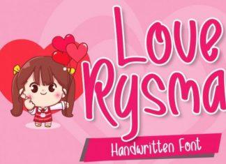 Love Rysma Font