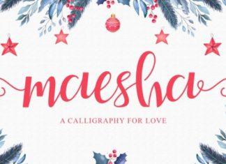 Maesha Font