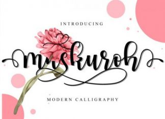 Maskuroh Font