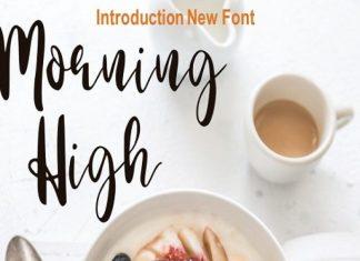 Morning High Font