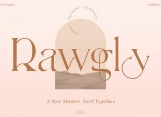 Rawgly Font
