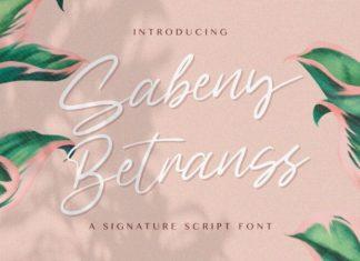 Sabeny Betranss Font