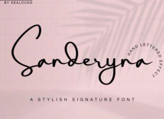 Sanderyna Font