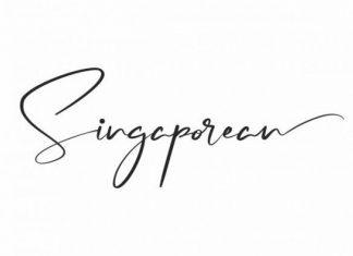 Singaporean Font