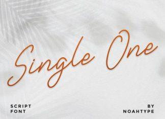 Single One Font