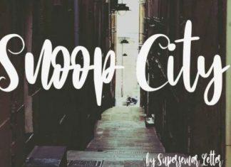 Snoop City Font