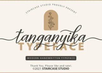 Tanganyika Font