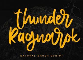 Thunder Ragnarok Font