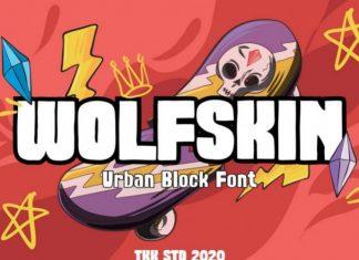 Wolfskin Font