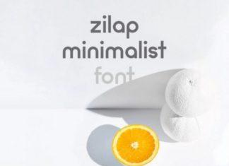 Zilap Minimalist Font