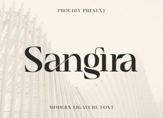 Sangira Serif Font