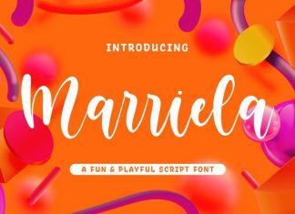 Marriela Script Font