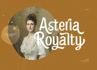 Asteria Royalty Font