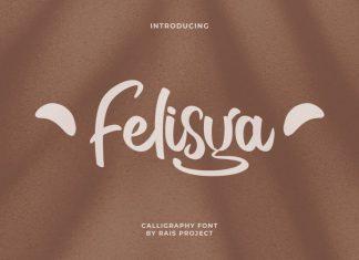 Felisya Brush Font