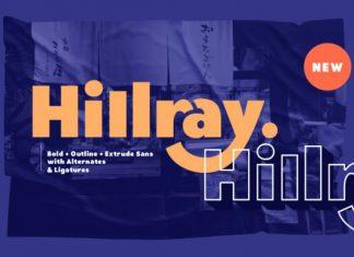 Hillray Sans Serif Font