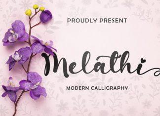 Melathi Font
