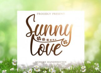 Sunny Love Script Font