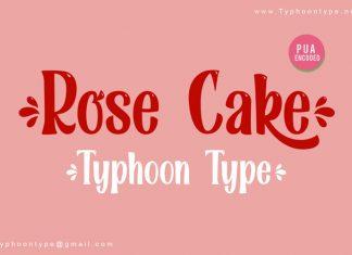 Rose Cake Script Font