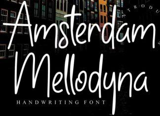 Amsterdam Mellodyna Font
