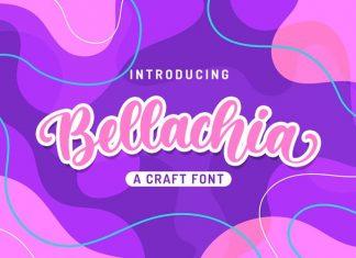 Bellachia Script Font