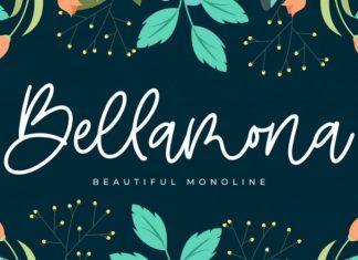 Bellamona Handwritten Font