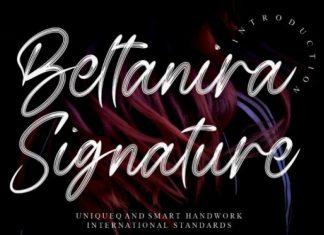 Beltanira Signature Script Font