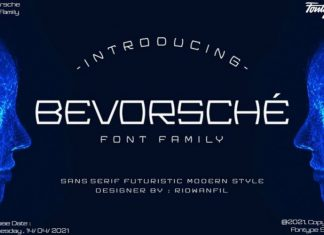 Bevorsche Display Font